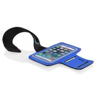 """"""" Cadorabo ? Neopren Smartphone Sport Armband Fitnessstudio Jogging Armband Oberarmtasche kompatibel mit 4, 5 ? 5, 0"""" Zoll Handys wie z, B, Apple iPhone 6 / 6S, 8 / 7 / 7S, Samsung Galaxy A3, HTC ONE A9 usw, mit Schlüsselfach und Kopfhöreranschl - Vorschau 4"""