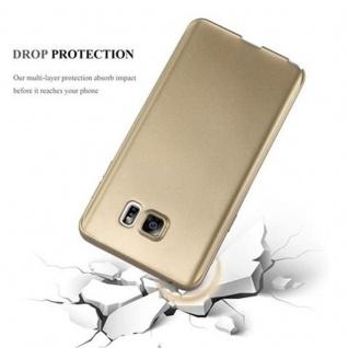 Cadorabo Hülle für Samsung Galaxy NOTE 5 in METALLIC GOLD - Handyhülle aus flexiblem TPU Silikon - Silikonhülle Schutzhülle Ultra Slim Soft Back Cover Case Bumper - Vorschau 4