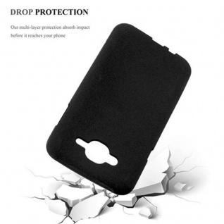 Cadorabo Hülle für Samsung Galaxy J7 2015 in FROST SCHWARZ - Handyhülle aus flexiblem TPU Silikon - Silikonhülle Schutzhülle Ultra Slim Soft Back Cover Case Bumper - Vorschau 5