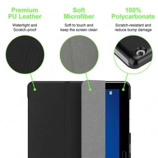 """Cadorabo Tablet Hülle für Huawei MediaPad M3 LITE 10 (10"""" Zoll) in SATIN SCHWARZ Ultra Dünne Book Style Schutzhülle mit Auto Wake Up und Standfunktion aus Kunstleder - Vorschau 5"""