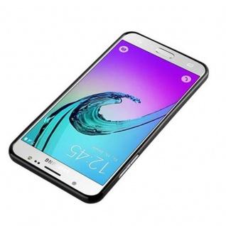 Cadorabo Hülle für Samsung Galaxy J7 2015 in JELLY SCHWARZ - Handyhülle aus flexiblem TPU Silikon - Silikonhülle Schutzhülle Ultra Slim Soft Back Cover Case Bumper - Vorschau 2