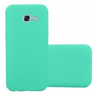 Cadorabo Hülle für Samsung Galaxy A3 2017 in FROSTY GRÜN Hardcase Handyhülle aus Plastik gegen Kratzer und Stöße Schutzhülle Bumper Ultra Slim Back Case Hard Cover