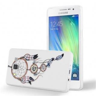 Cadorabo Hülle für Samsung Galaxy A3 2015 - Hülle im Design TRAUMFÄNGER ? Handyhülle aus TPU Silikon mit Aufdruck - Silikonhülle Schutzhülle Ultra Slim Soft Back Cover Case Bumper