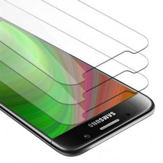 Cadorabo 3x Panzer Folie für Samsung Galaxy S6 - Schutzfolie in KRISTALL KLAR - 3er Pack Gehärtetes (Tempered) Display-Schutzglas in 9H Härte mit 3D Touch Kompatibilität