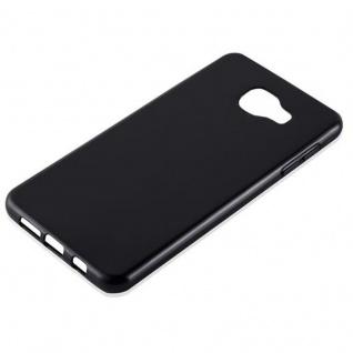 Cadorabo Hülle für Samsung Galaxy A7 2016 in SCHWARZ - Handyhülle aus flexiblem TPU Silikon - Silikonhülle Schutzhülle Ultra Slim Soft Back Cover Case Bumper - Vorschau 2