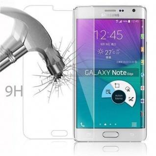 Cadorabo Panzer Folie für Samsung Galaxy NOTE EDGE - Schutzfolie in KRISTALL KLAR - Gehärtetes (Tempered) Display-Schutzglas in 9H Härte mit 3D Touch Kompatibilität - Vorschau 3