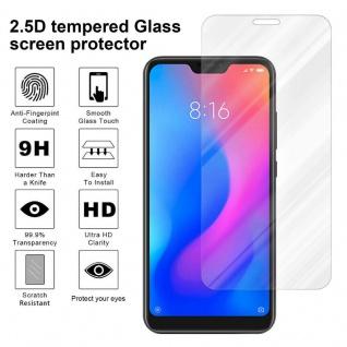 Cadorabo Panzer Folie für Xiaomi Mi A2 Lite - Schutzfolie in KRISTALL KLAR ? Gehärtetes (Tempered) Display-Schutzglas in 9H Härte mit 3D Touch Kompatibilität - Vorschau 4