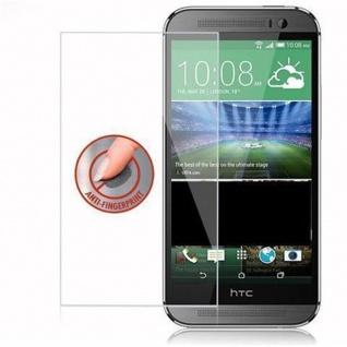 Cadorabo Panzer Folie für HTC ONE M8 (2.Gen.) - Schutzfolie in KRISTALL KLAR - Gehärtetes (Tempered) Display-Schutzglas in 9H Härte mit 3D Touch Kompatibilität - Vorschau 4