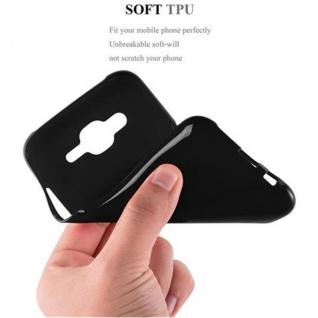 Cadorabo Hülle für Samsung Galaxy J5 2015 in JELLY SCHWARZ - Handyhülle aus flexiblem TPU Silikon - Silikonhülle Schutzhülle Ultra Slim Soft Back Cover Case Bumper - Vorschau 3