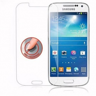 Cadorabo Panzer Folie für Samsung Galaxy S4 MINI - Schutzfolie in KRISTALL KLAR - Gehärtetes (Tempered) Display-Schutzglas in 9H Härte mit 3D Touch Kompatibilität - Vorschau 4