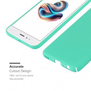 Cadorabo Hülle für Xiaomi Mi A1 / 5X in FROSTY GRÜN - Hardcase Handyhülle aus Plastik gegen Kratzer und Stöße - Schutzhülle Bumper Ultra Slim Back Case Hard Cover - Vorschau 5
