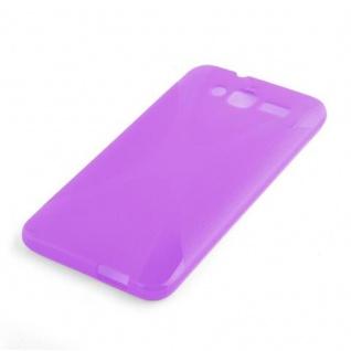 Cadorabo Hülle für Huawei ASCEND GX 1 in FLIEDER VIOLETT ? Handyhülle aus flexiblem TPU Silikon ? Silikonhülle Schutzhülle Ultra Slim Soft Back Cover Case Bumper - Vorschau 2