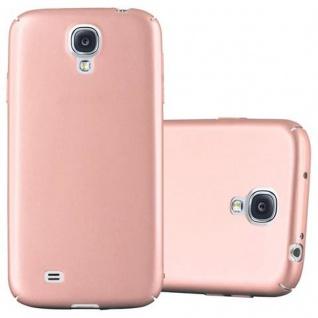 Cadorabo Hülle für Samsung Galaxy S4 in METALL ROSE GOLD - Hardcase Handyhülle aus Plastik gegen Kratzer und Stöße - Schutzhülle Bumper Ultra Slim Back Case Hard Cover