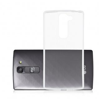 Cadorabo - TPU Ultra Slim Silikon Hülle für LG G2 MINI - Case Cover Schutzhülle Bumper in VOLL-TRANSPARENT