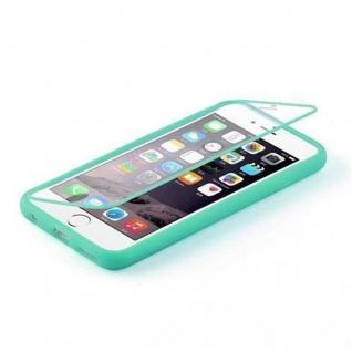 Cadorabo - TPU Silikon Schutzhülle (Full Body Rund-um-Schutz auch für das Display) für Apple iPhone 6 / iPhone 6S - (4.7) in MEER GRÜN