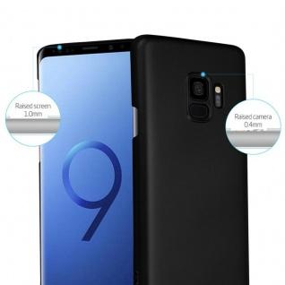 Cadorabo Hülle für Samsung Galaxy S9 in METALL SCHWARZ - Hardcase Handyhülle aus Plastik gegen Kratzer und Stöße - Schutzhülle Bumper Ultra Slim Back Case Hard Cover - Vorschau 2