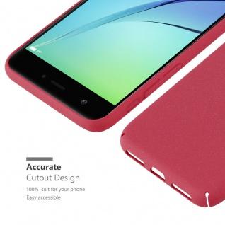 Cadorabo Hülle für Huawei Nova in FROSTY ROT - Hardcase Handyhülle aus Plastik gegen Kratzer und Stöße - Schutzhülle Bumper Ultra Slim Back Case Hard Cover - Vorschau 3