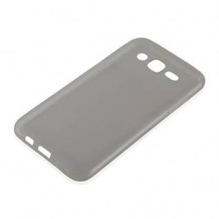 Cadorabo Hülle für Samsung Galaxy J5 2015 in TRANSPARENT SCHWARZ - Handyhülle aus flexiblem TPU Silikon - Silikonhülle Schutzhülle Ultra Slim Soft Back Cover Case Bumper - Vorschau 2