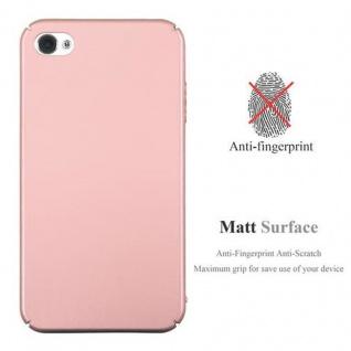 Cadorabo Hülle für Apple iPhone 4 / iPhone 4S in METALL ROSE GOLD - Hardcase Handyhülle aus Plastik gegen Kratzer und Stöße - Schutzhülle Bumper Ultra Slim Back Case Hard Cover - Vorschau 2