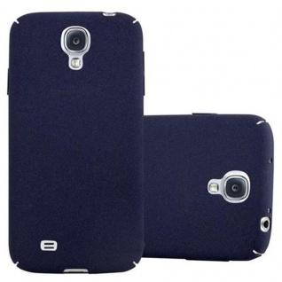 Cadorabo Hülle für Samsung Galaxy S4 in FROSTY BLAU Hardcase Handyhülle aus Plastik gegen Kratzer und Stöße Schutzhülle Bumper Ultra Slim Back Case Hard Cover