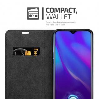 Cadorabo Hülle für OPPO R17 NEO in APFEL ROT Handyhülle mit Magnetverschluss, Standfunktion und Kartenfach Case Cover Schutzhülle Etui Tasche Book Klapp Style - Vorschau 4