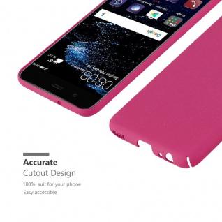 Cadorabo Hülle für Huawei P10 in FROSTY PINK - Hardcase Handyhülle aus Plastik gegen Kratzer und Stöße - Schutzhülle Bumper Ultra Slim Back Case Hard Cover - Vorschau 5