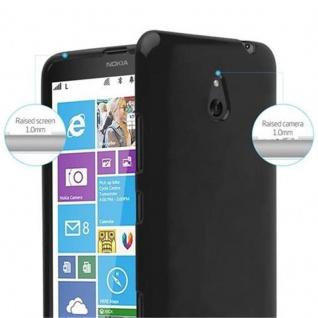 Cadorabo Hülle für Nokia Lumia 1320 in JELLY SCHWARZ - Handyhülle aus flexiblem TPU Silikon - Silikonhülle Schutzhülle Ultra Slim Soft Back Cover Case Bumper - Vorschau 5