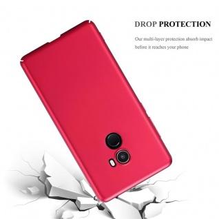 Cadorabo Hülle für Xiaomi Mi Mix 2 in METALL ROT - Hardcase Handyhülle aus Plastik gegen Kratzer und Stöße - Schutzhülle Bumper Ultra Slim Back Case Hard Cover - Vorschau 3