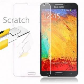 Cadorabo Panzer Folie für Samsung Galaxy NOTE 3 NEO Schutzfolie in KRISTALL KLAR Gehärtetes (Tempered) Display-Schutzglas in 9H Härte mit 3D Touch Kompatibilität - Vorschau 2