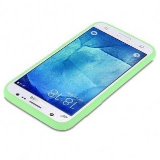 Cadorabo Hülle für Samsung Galaxy J5 2015 in CANDY PASTELL GRÜN - Handyhülle aus flexiblem TPU Silikon - Silikonhülle Schutzhülle Ultra Slim Soft Back Cover Case Bumper - Vorschau 3