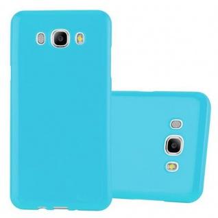 Cadorabo Hülle für Samsung Galaxy J5 2015 in JELLY HELL BLAU ? Handyhülle aus flexiblem TPU Silikon ? Silikonhülle Schutzhülle Ultra Slim Soft Back Cover Case Bumper - Vorschau 1
