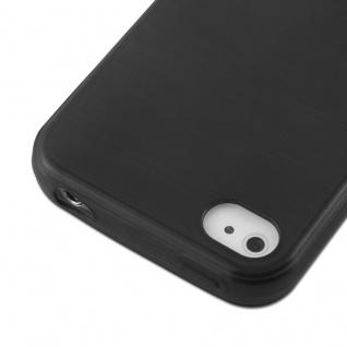 Cadorabo Hülle für Apple iPhone 4 / iPhone 4S in SCHWARZ - Handyhülle aus flexiblem TPU Silikon - Silikonhülle Schutzhülle Ultra Slim Soft Back Cover Case Bumper - Vorschau 4