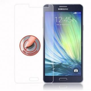 Cadorabo Panzer Folie für Samsung Galaxy A7 2015 - Schutzfolie in KRISTALL KLAR - Gehärtetes (Tempered) Display-Schutzglas in 9H Härte mit 3D Touch Kompatibilität - Vorschau 4