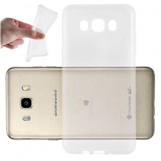 Cadorabo Hülle für Samsung Galaxy J7 2016 in VOLL TRANSPARENT - Handyhülle aus flexiblem TPU Silikon - Silikonhülle Schutzhülle Ultra Slim Soft Back Cover Case Bumper