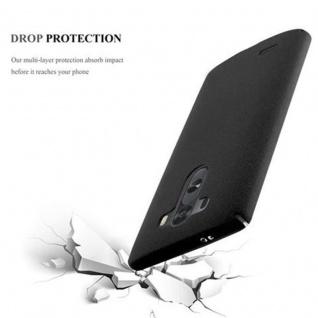 Cadorabo Hülle für LG G3 in FROSTY SCHWARZ - Hardcase Handyhülle aus Plastik gegen Kratzer und Stöße - Schutzhülle Bumper Ultra Slim Back Case Hard Cover - Vorschau 4