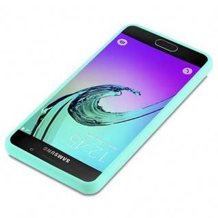 Cadorabo Hülle für Samsung Galaxy A3 2016 in CANDY BLAU - Handyhülle aus flexiblem TPU Silikon - Silikonhülle Schutzhülle Ultra Slim Soft Back Cover Case Bumper - Vorschau 3