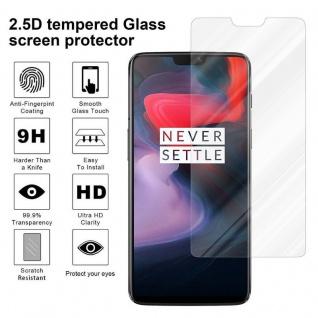 Cadorabo Panzer Folie für OnePlus 6 - Schutzfolie in KRISTALL KLAR - Gehärtetes (Tempered) Display-Schutzglas in 9H Härte mit 3D Touch Kompatibilität - Vorschau 4