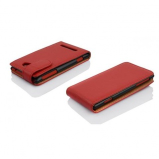 Cadorabo Hülle für Nokia Lumia 1020 - Hülle in BORDEAUX LILA ? Handyhülle mit Kartenfach aus struktriertem Kunstleder - Case Cover Schutzhülle Etui Tasche Book Klapp Style