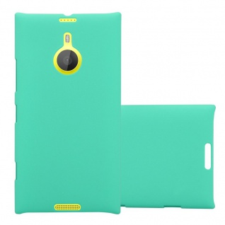 Cadorabo Hülle für Nokia Lumia 1520 in FROSTY GRÜN - Hardcase Handyhülle aus Plastik gegen Kratzer und Stöße - Schutzhülle Bumper Ultra Slim Back Case Hard Cover - Vorschau 1