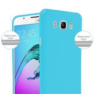 Cadorabo Hülle für Samsung Galaxy J7 2015 in JELLY HELL BLAU - Handyhülle aus flexiblem TPU Silikon - Silikonhülle Schutzhülle Ultra Slim Soft Back Cover Case Bumper - Vorschau 5