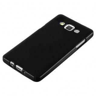 Cadorabo Hülle für Samsung Galaxy A5 2015 in JELLY SCHWARZ ? Handyhülle aus flexiblem TPU Silikon ? Silikonhülle Schutzhülle Ultra Slim Soft Back Cover Case Bumper - Vorschau 4