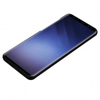 Cadorabo Hülle für Samsung Galaxy S9 PLUS in METALL SCHWARZ - Hardcase Handyhülle aus Plastik gegen Kratzer und Stöße - Schutzhülle Bumper Ultra Slim Back Case Hard Cover - Vorschau 3