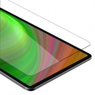 Cadorabo Panzer Folie für Apple iPad Pro 12.9 2018 - Schutzfolie in KRISTALL KLAR - Gehärtetes (Tempered) Display-Schutzglas in 9H Härte mit 3D Touch Kompatibilität