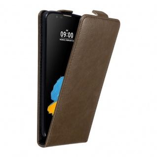Cadorabo Hülle für LG STYLUS 2 in KAFFEE BRAUN Handyhülle im Flip Design mit unsichtbarem Magnetverschluss Case Cover Schutzhülle Etui Tasche Book Klapp Style
