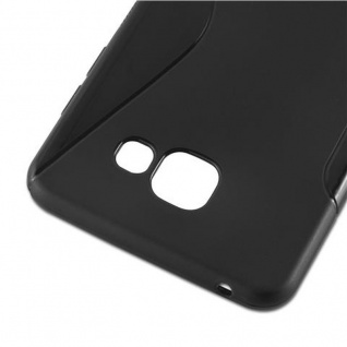 Cadorabo Hülle für Samsung Galaxy A5 2016 in OXID SCHWARZ ? Handyhülle aus flexiblem TPU Silikon ? Silikonhülle Schutzhülle Ultra Slim Soft Back Cover Case Bumper - Vorschau 4