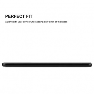 """Cadorabo Tablet Hülle für Huawei MediaPad M3 LITE 10 (10"""" Zoll) in SATIN SCHWARZ Ultra Dünne Book Style Schutzhülle mit Auto Wake Up und Standfunktion aus Kunstleder - Vorschau 2"""