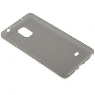 Cadorabo Hülle für Samsung Galaxy NOTE 4 in TRANSPARENT SCHWARZ - Handyhülle aus flexiblem TPU Silikon - Silikonhülle Schutzhülle Ultra Slim Soft Back Cover Case Bumper - Vorschau 3