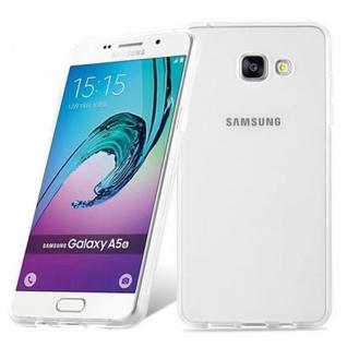 Cadorabo Hülle für Samsung Galaxy A5 2016 in VOLL TRANSPARENT - Handyhülle aus flexiblem TPU Silikon - Silikonhülle Schutzhülle Ultra Slim Soft Back Cover Case Bumper - Vorschau 2