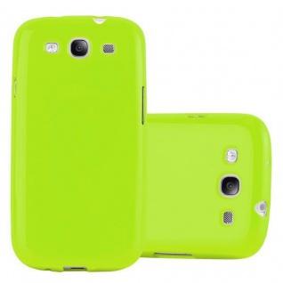 Cadorabo Hülle für Samsung Galaxy S3 / S3 NEO in JELLY GRÜN ? Handyhülle aus flexiblem TPU Silikon ? Silikonhülle Schutzhülle Ultra Slim Soft Back Cover Case Bumper