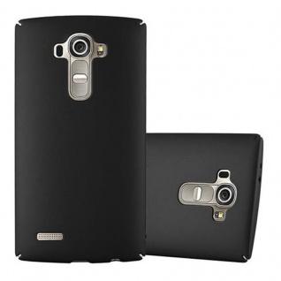 Cadorabo Hülle für LG G4 / G4 PLUS in METALL SCHWARZ - Hardcase Handyhülle aus Plastik gegen Kratzer und Stöße - Schutzhülle Bumper Ultra Slim Back Case Hard Cover